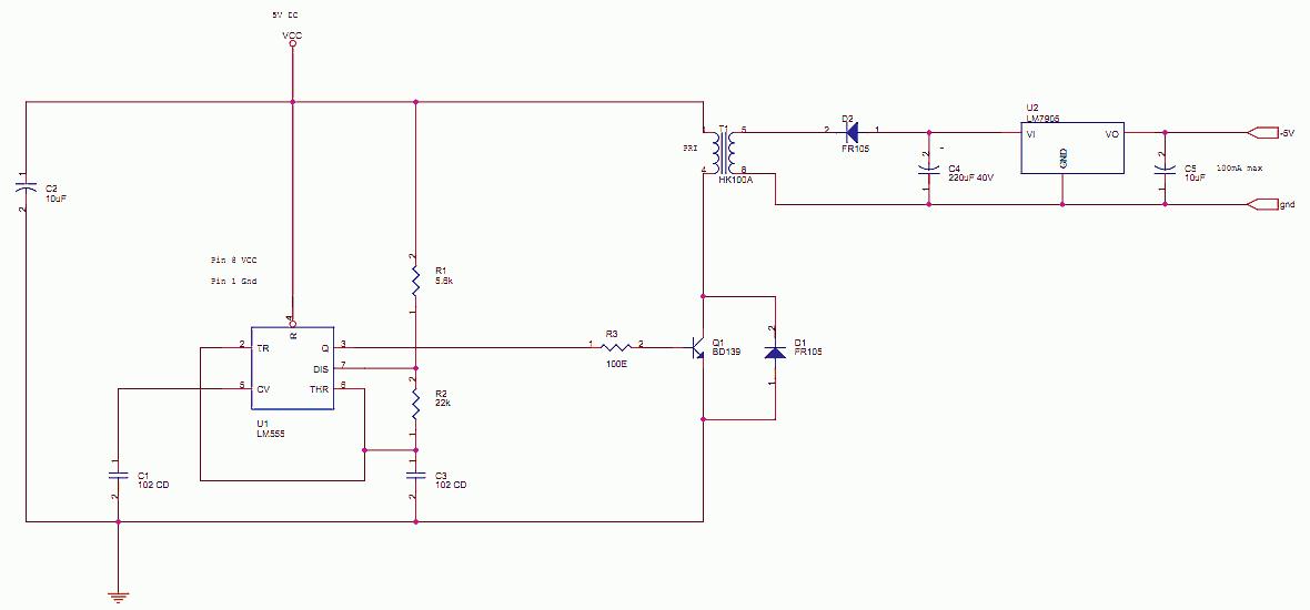 555 -5 Generator delabs