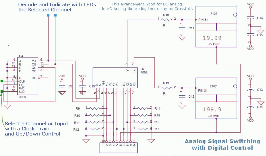 Analog mV Switch for Digital Meters