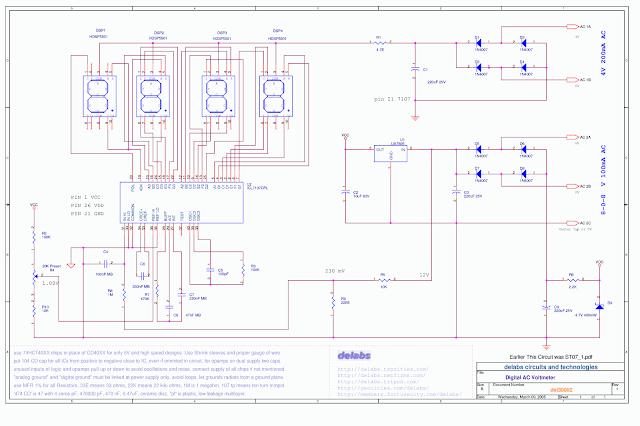3-1/2 Digit ICL7107 DPM Digital Panel Meter