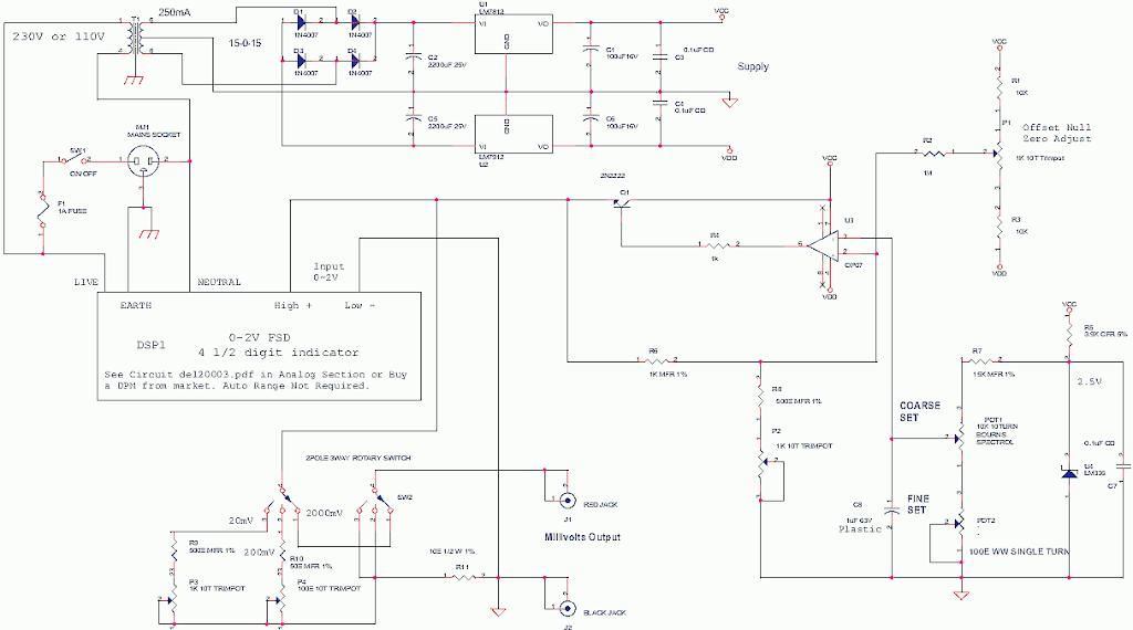 Simple Millivolt Source for Calibration