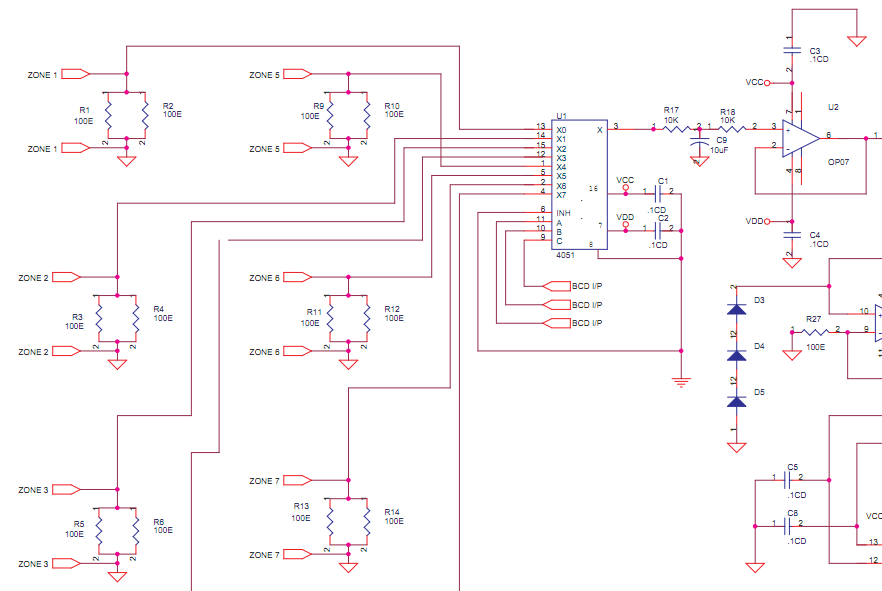 Analog Mux for Data Acquisition Systems