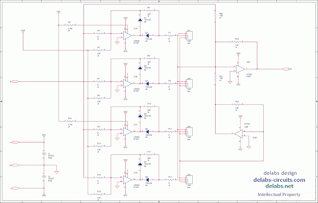 Linearizing Circuit with Opamps