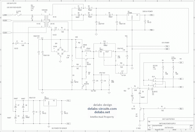 Generic LM317 Switching Supply