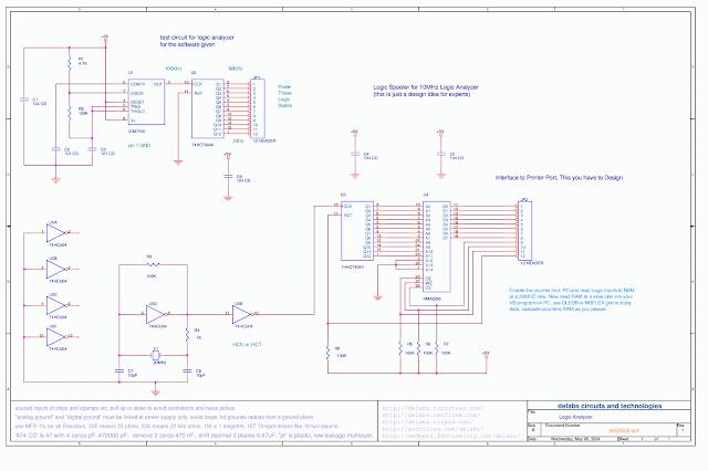 Test Circuit for Logic Analyzer software