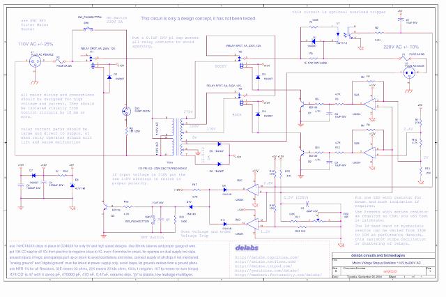 Stabilizer Step up 110V AC to 230V AC 500VA