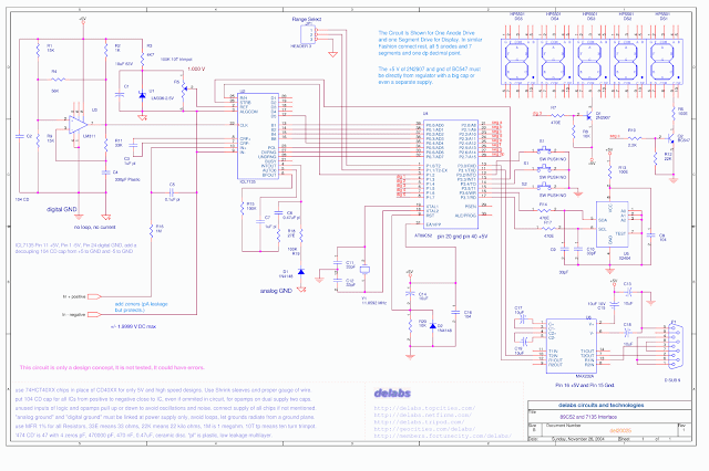 AT89C52 Parallel Interface to ICL7135