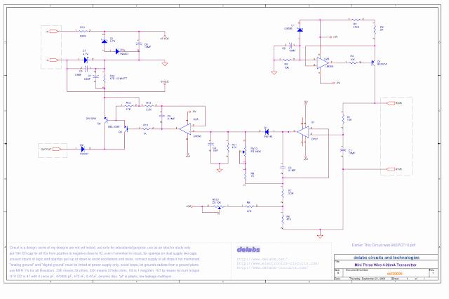 Mini RTD Pt-100 Transmitter