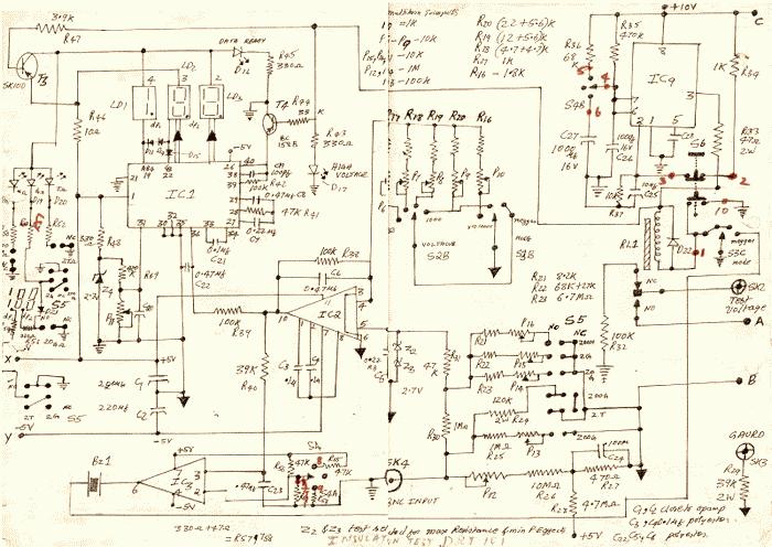 Insulation Tester pico amplifier
