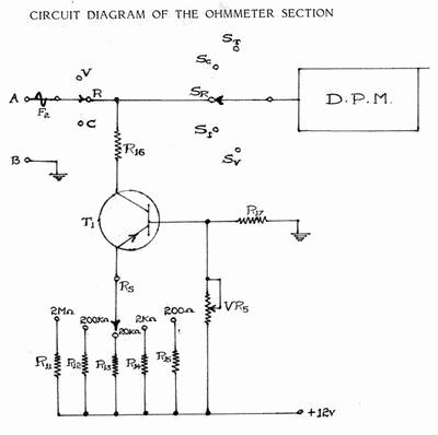 Ohmmeter - Simple Resistance Measurement