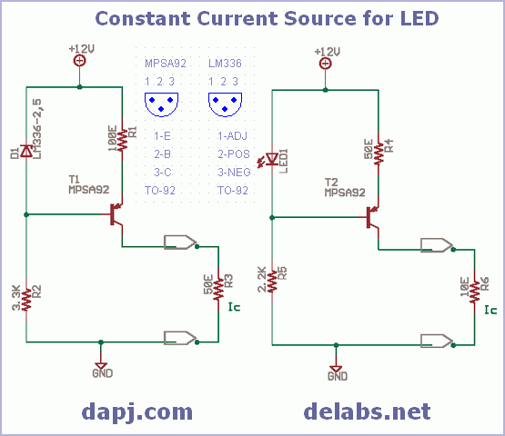 Constant Current Source for LED
