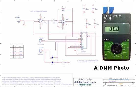 Analog Buffer and Inverter Switching - DMM Project