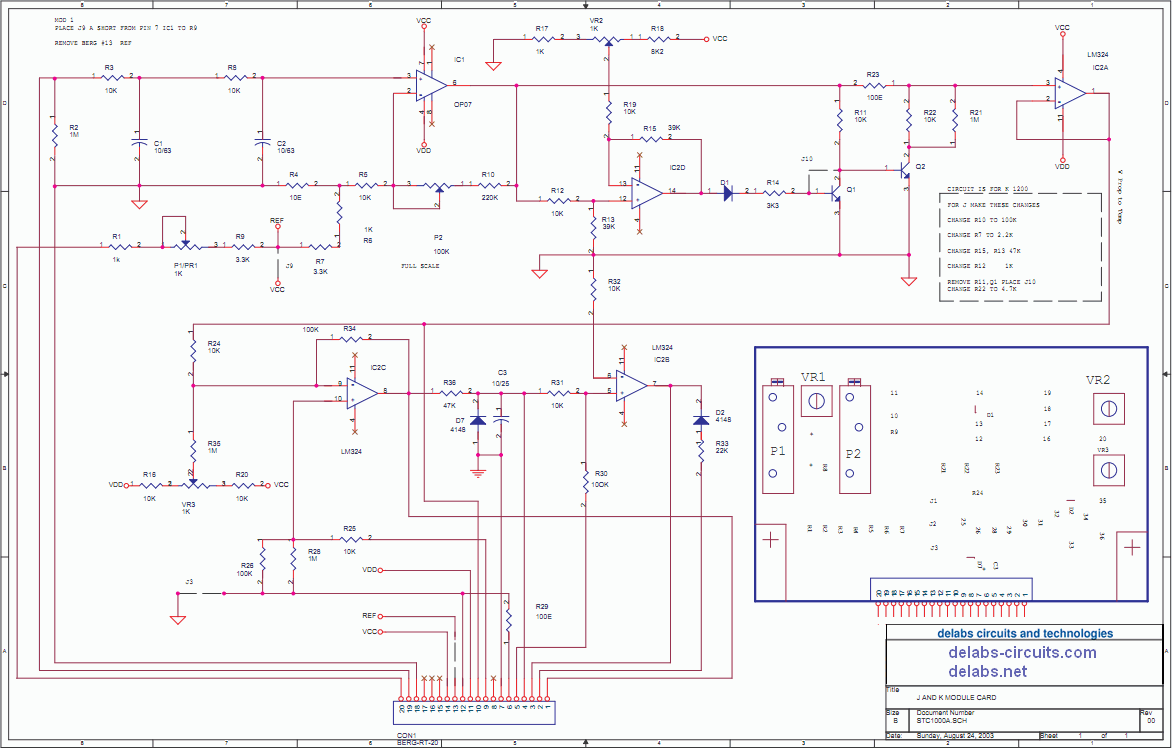 Thermocouple and Current Input Module